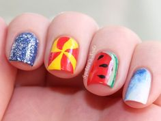 Would use the watermelon design only, really pretty for summer time