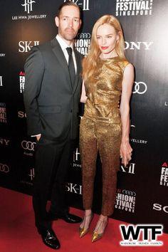 Kate Bosworth in Oscar de la Renta - In Singaproe.   (May 2014)