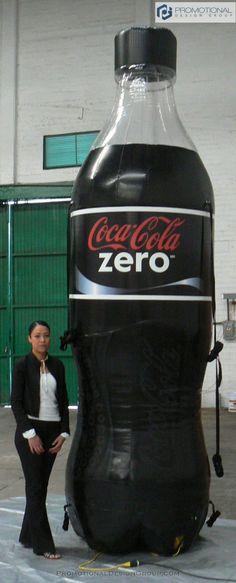 Inflatable Coca Cola Zero