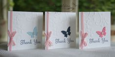 Thank you mini cards    By:stampin-n-stuff