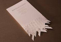 woven invitation card.