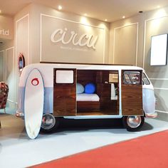 Bun Van is a bed, reinvented by Circu. Inspired by one of the most iconic and magical symbols of fun and freedom, this bed is perfect to bring some fun and imagination to kids rooms! Know more at www.circu.net #circu magical furniture #luxurykids kids room ideas #kidsroomdecor dream room