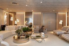 Interior Design Living Room, Living Room Designs, Living Room Decor, Interior Decorating, Home Decor Furniture, Luxury Furniture, Home Room Design, House Design, Sala Grande