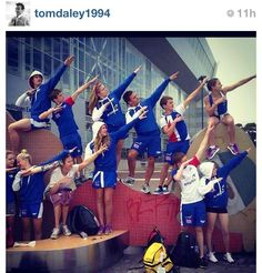 GB swim team lookin fly! Creds to Tom Daley's official Instagram page