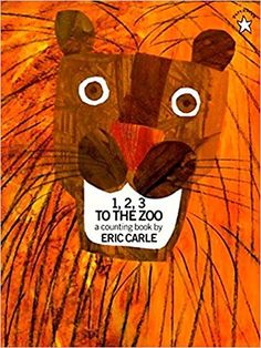 3 to the Zoo by E. Carle Joyously colored animals, riding on a train to the zoo, offer youngsters a first introduction to numbers, number sets, addition and counting in Eric Carle's first picture book. Zoo Preschool, Preschool Books, In Kindergarten, Math Books, Preschool Themes, Kid Books, Preschool Birthday, Preschool Curriculum, Toddler Preschool