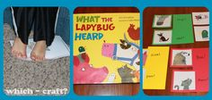 What brilliant activity ideas for one of our favourite books, What the Ladybird Heard
