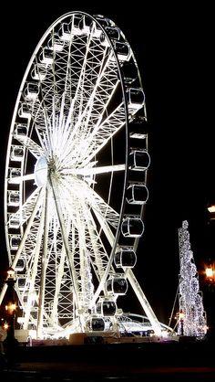Christmas - Ferris wheel of Paris