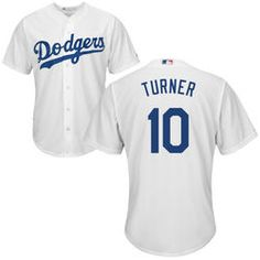 c3adf288 Justin Turner Youth Jersey - LA Dodgers Replica Kids Home Jersey