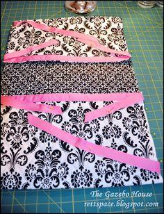 The Gazebo House: Walker Caddy Tutorial<br> Sewing Hacks, Sewing Tutorials, Sewing Projects, Sewing Patterns, Sewing Ideas, Sewing Tips, Craft Patterns, Craft Projects, Craft Ideas