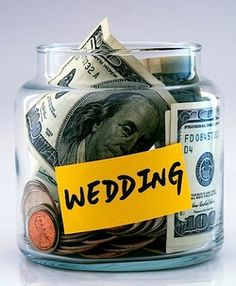 20 ways to save on your wedding, using these and a few more!