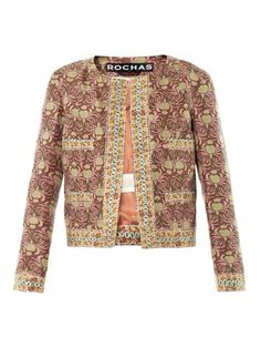 Crab-print silk jacket | Rochas | MATCHESFASHION.COM