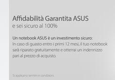 Ci scommettiamo un rimborso? Web News: AFFIDABILITA' GARANTITA ASUS 100% http://www.infoshopsrl.it/web-news-affidabilita-garantita-asus-100.html