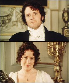 Favourite scene ever! Jennifer Ehle and Colin Firth as Lizzie Bennet and Mr Darcy Colin Firth, Darcy Pride And Prejudice, Jennifer Ehle, Jane Austen Novels, Mr Darcy, Chef D Oeuvre, Classic Literature, Film Serie, I Movie