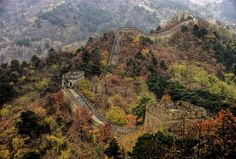 China · The Great Wall   By Francisco Diez via https://commons.wikimedia.org/wiki/File%3AGreat_Wall_of_China%2C_Mutianyu_Section.jpg  China's greatest engineering triumph and must-see sight, The Great Wall (万里长城) wriggles haphazardly from its scattered Manchurian remains in Liáoníng province to wind-scoured rubble in the Gobi desert and faint traces in the unforgiving sands of Xīnjiāng.   #history #wall #worldheritagesite  #china