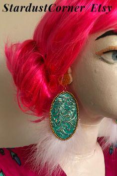 Crochet Earrings, Handmade Jewelry, Hair Accessories, Etsy, Fashion, Moda, La Mode, Fasion, Fashion Models