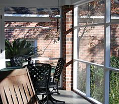 How to Screen a Porch - Spring Screening, Lowe's Creative Ideas for Your Home & Garden | In The News | Screen Tight Fast Furniture, Furniture Repair, Furniture Dolly, Deck Furniture, Screened In Patio, Front Porch, House Front, Lowes Creative, Creative Ideas