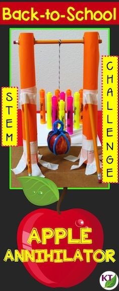 Video blog describes a Back-to-Cchool STEM challenge you can use with grades 2 - 8.