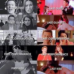 Finchel First and Last Duet, Glance, Conservation, Performance and Kiss