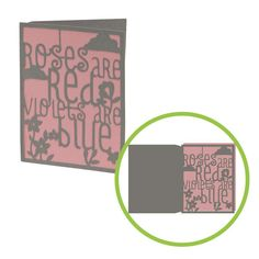 Roses are Red card-only $1.99 on Cricut Craft Room!