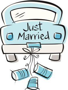 Just Married Accessoires pour réussir votre mariage sur http://yesidomariage.com