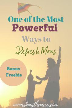 One of the Most Powerful Ways to Refresh Moms. Bible Study Methods. 7 Methods in 7 Days. Arabah Joy. Scripture. Growing in faith. Encouragement for Moms. Bonus Freebie.