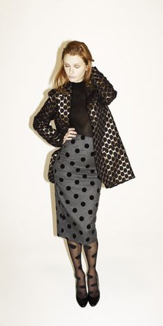 all over polka dots
