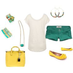 Summertime.., created by misslisa5472 on Polyvore