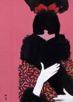 RenéGruau    Cover Art    International Textiles Magazine