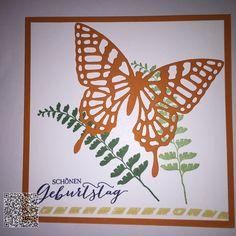 Stampin´UP! jennys_Stempelwelt Karte zum Geburtstag mit dem Set Schmetterlingsgruß