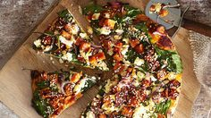 ... - Pizza on Pinterest | Pizza, Thai chicken pizza and Vegetable pizza