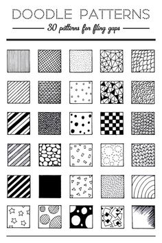 160 Best Cool Patterns To Draw Images In 2019