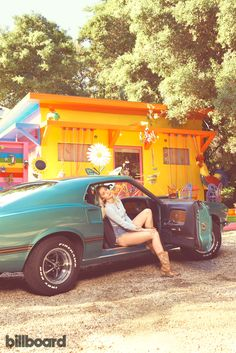 "Cyrus in the Mustang Mach I she bought for Hemsworth. ""I'm no Ryan Seacrest. I'm no Carson Daly — I don't have that kind of money. But I have to believe that if you're super successful, you reach a point where you go, 'I've got enough houses.' """