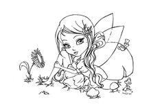Little Fairy by *JadeDragonne on deviantART