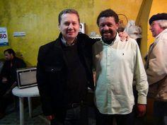 Dois encontros marcaram nossa visita a Dom Pedrito. O primeiro foi organizado pelo companheiro Fialho na casa de Aragir, o segundo, pelo PDT da cidade, na sede do partido. Ambos foram maravilhosos.