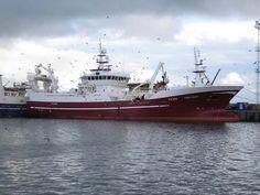 Big trawler: Fishing vessel Kings Cross FR380