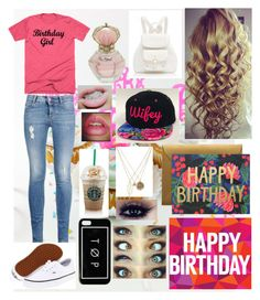 """Happy Birthday To me!!"" by jccook-jc ❤ liked on Polyvore featuring moda, STELLA McCARTNEY, Vans, notNeutral, Forever New y Charlotte Russe"