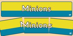 Head your 'Yellow Men' display with this lovely themed banner! Features our own illustrations to help brighten up your classroom, and clearly define the theme of your topic board.