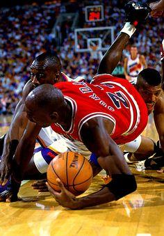 Michael Jordan vs Suns