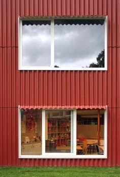 Extensão Escola Rumst / Bovenbouw © Filip Dujardin