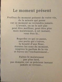 Positive Attitude, Some Words, Wise Quotes About Love, Love Quotes, Best Quotes, Be Present Quotes, Quote Backgrounds, Affirmations, French Quotes