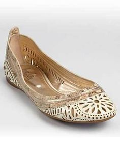 Flats That Aren't Fugly — 10 Pairs You'll Love! | TheKnot Blog  belle by sigerson morrison bloomingdales