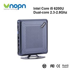 Find More Mini PC Information about Mini PC Intel Core i5 6200U Dual core 2.3 2.8Ghz Windows/Linux HD MI VGA HTPC Desktops Nettop 8xUSB SSD 256G Computer with WIFI,High Quality Mini PC from Vnopn Official Store on Aliexpress.com