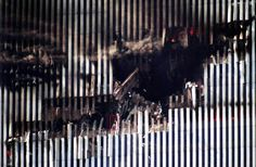 world trade center attack | The North Tower's Impact Hole