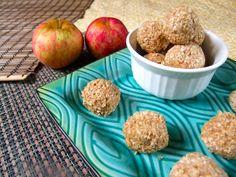 apple peanut butter balls