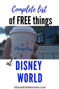 Free things to do and get at Walt Disney World - Mouse Ear Memories - Places worth visiting! - Free things to do and get at Walt Disney World – Mouse Ear Memories - Voyage Disney World, Viaje A Disney World, World Disney, Disney World Secrets, Disney World Tips And Tricks, Disney Tips, Disney Worlds, Disney Parks, Birthday At Disney World