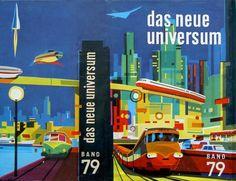 Schutzumschlag Das Neue Universum, Band 79 (1962)