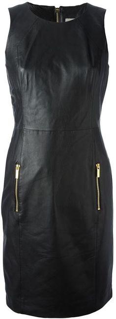73f46154b3dfdd $891, Michl Michl Kors Panelled Shift Dress by MICHAEL Michael Kors. Sold  by farfetch.com.
