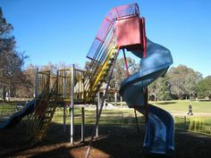 Apex Park Playground, Clements St, Wangaratta All Playgrounds (Wangaratta Rural City Council) North East Outside Melbourne Park Playground, City Council, Playgrounds, Regional, Melbourne, Sailing, The Outsiders, Waves, Victoria