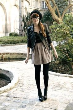 hard edge hipster french nerd prettyness combo