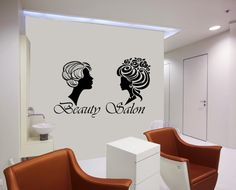 Hair Salon Beauty Salon Barbershop Hairdressing Salon by CozyDecal, $15.99